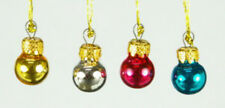 1/12, Dolls House Miniature 12x Christmas Baubles balls decorations Xmas NEW LGW