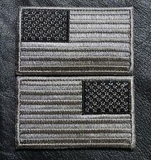 USA AMERICAN FLAG 3.5 inch TACTICAL US ARMY MORALE REVERSED ACU  VELCRO PATCH