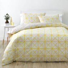 Deco City Living NET YELLOW King Size Bed Doona| Duvet| Quilt Cover Set NEW