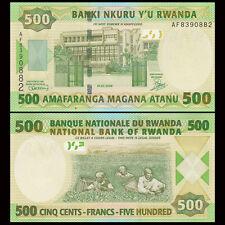 Rwanda 500 Francs, 2008, P-34, UNC