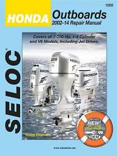 2002-2014 Honda Outboard 4-Stroke 2.5-250 HP Seloc Repair Manual 40 30 25 0784