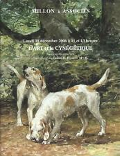 Catalogue de vente MILLON 2006 L'ART ET LA CYNEGETIQUE BRONZE ANIMALIER TABLEAU
