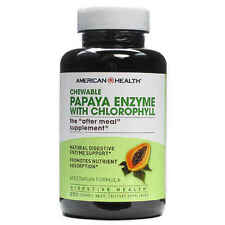Papaya Digestive Enzyme With Chlorophyll 250 Chewable Tablets