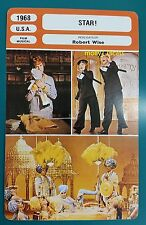 American Musical Star! Julie Andrews Robert Wise French Film Trade Card