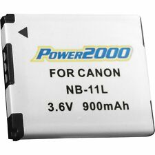 Power2000 NB11L NB-11L Rechargeable Battery for Canon A3400 A4000 Elph 110 115