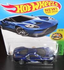 HOT WHEELS (1) XHTF 2016 SUPER TREASURE HUNT - HW EXOTICS - '17 FORD GT (MOMC)