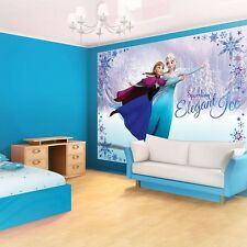 Disney Frozen Elsa Anna PHOTO WALLPAPER/ WALL MURAL PICTURE