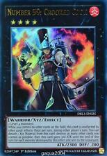 YuGiOh Number 59: Crooked Cook DRL3-EN025 Ultra Rare 1st Edition