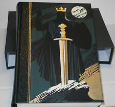 Folio Society - Legends of King Arthur - 2000, Slip Cover - very clean