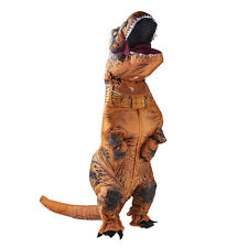 1PC T-Rex DINOSAUR Inflatable Adult Costume TRex Costumes Halloween Party Dress#