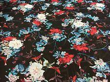 Chiffon Dress Fabric - 'O'Hara' - Chiffon Print