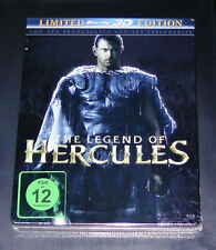THE LEGEND OF HERCULES 3D LIMITIERTE STEELBOOK EDITION  BLU RAY NEU & OVP