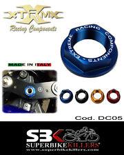 Lenkkopfmutter, EXTREME,Honda CBR 600 F,CBR 600 RR/R ,Hornet 600 900 Blau DC05