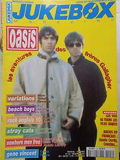 revue JUKEBOX MAGAZINE N°123 - OASIS STRAY CATS GENE VINCENT BEACH BOYS