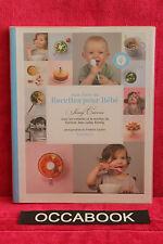 Mon livre de recettes pour bébé - Jenny Carenco et Jean Lalau Keraly