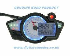 Digital Speedometer Speedo Dash Gauge RPM Lights Motorcycle Kit Car KOSO RX1n W
