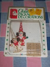 NOS Christmas package Decorations  S. S. Kresge  Great Craft Item