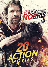 20 Action Movies: Featuring Chuck Norris (DVD, 2016, 4-Disc Set)