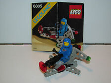 LEGO SPACE No 6805 ASTRO DASHER 100% COMPLETE + INSTRUCTIONS - 1980s