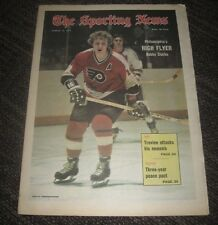 1973 Bobby Clark Philadelphia Flyers - The Sporting News Magazine - No Label
