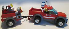 Lego City #7942 Off Road Fire Rescue, 131 pcs, 100% complete  (Box crushed)