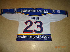 Ice Tigers Nürnberg Metzen Athletic Eishockey Trikot 01/02 + Nr.23 Luongo Gr.XL