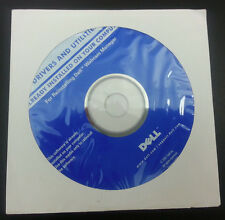 DELL PC DRIVERS & UTILITIES CD DVD for Reinstalling WEBCAM MANAGER 2007