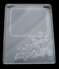 Sizzix Large Embossing Folder FLOWERS & FRAME fits Cuttlebug & Wizard