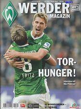 Werder revista bremen + sc friburgo + 19.10.2013 programa + + stadionmagazin +