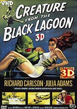 CREATURE FROM THE BLACK LAGOON 3D MOVIE ANAGLYPH STEREO DVD W/ GLASSES