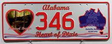 Nummernschild Australien N.P.C.C Treffensschild Alabama 2007. 6792.