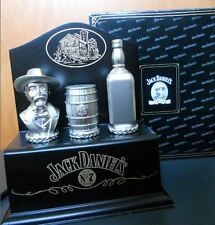 JACK DANIEL'S 3 BOTTLE STOPPER TOPPER Collection NEW in BOX with COA
