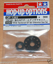 Tamiya 54262 TRF201 Reinforced 52T Ball Differential Gear Set, FF03/DN01/XV-01TC