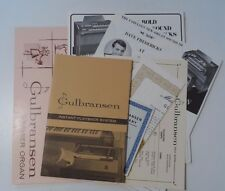 Gulbransen Instant Playback System Owner's Manual and Ample Registration Book