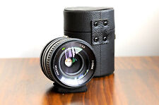 PHOTAX  (for Canon FD)  MC 28mm f/2.8 Lens  w/ Case   - Made in Japan     FL/FT