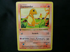 Pokemon Card Shadowless Charmander 46/102 1st Edition Base Excellent