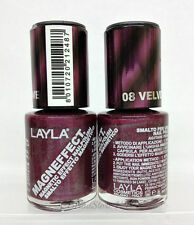 LAYLA- MAGNEFFECT Magnetic Effect 3D Nailpolish 08 VELVET GROOVE- NEW FROM ITALY