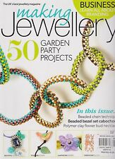 MAKING JEWELLERY MAGAZINE MAY 2016, 50 GARDEN PARTY PROJECTS.