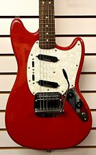 FENDER Vintage Modified Mustang ELECTRIC GUITAR Fiesta Red NEW