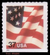 3635 (CF1) Postal Counterfeit 37c Flag From Convertible Pane 2002 MNH - Buy Now