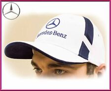 Mercedes-Benz Baseball Cap Hat. 100% cotton. White color. Adjustable size!