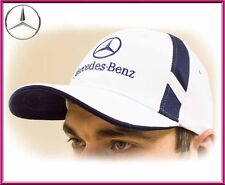 Mercedes-Benz Baseball Cap Hat. 100% cotton. White color. Adjustable size!
