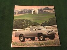 "MINT ORIGINAL 1993 TOYOTA T100 PICKUP DEALER SALES BROCHURE 11.5"" X 11"" (797)"
