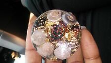 Strong healing mini orgone car piece velcro attachable (faraday cage)