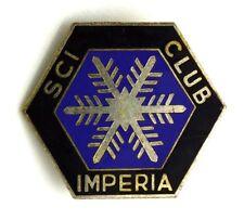 Spilla Sci Club Imperia (Fassino Torino) cm 2,7 x 3,3