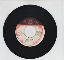 "HIGH MUSIC/ MOVE ON UP  -  DEVON RUSSELL  (84 REGGAE ROOTS 7"")"