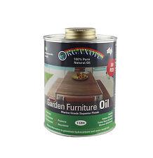Organoil Garden Furniture Oil & External Oil RED 1 litre