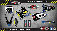 Yamaha YZ 250 / 2015 - 2016 Full custom graphics kit SUNRISE style stickers