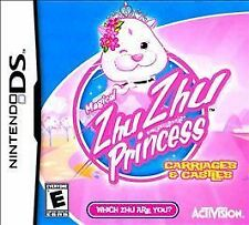 Magical ZhuZhu Princess Carriages & Castles DS NEW! NDS, DSI, LITE, XL, 3DS! FUN