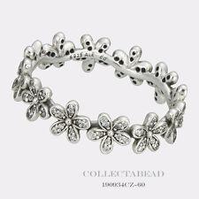 Authentic Pandora Silver Dazzling Daisy Meadow CZ Ring Size (8) 58 190934CZ